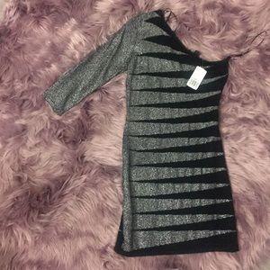 One sleeve bodycon dress-NWT